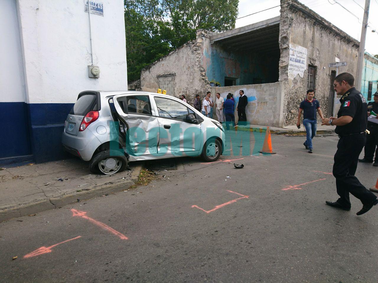 'Encontronazo' dominical con 7 heridos en Mérida