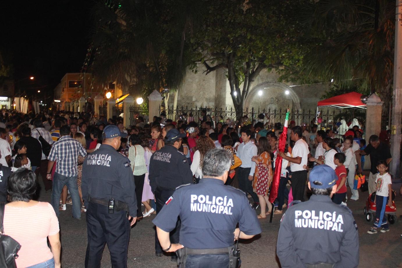 Cierre de calles por festejos a la virgen de Guadalupe