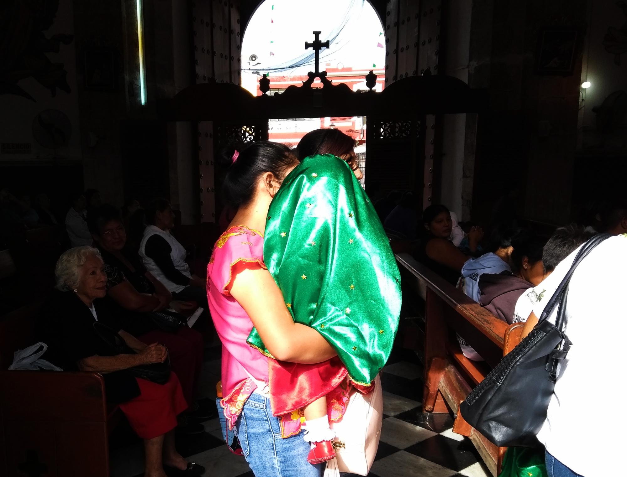 Inicia en Mérida <i>fiesta mexicana</i> de la fe: adoración de la Virgen de Guadalupe