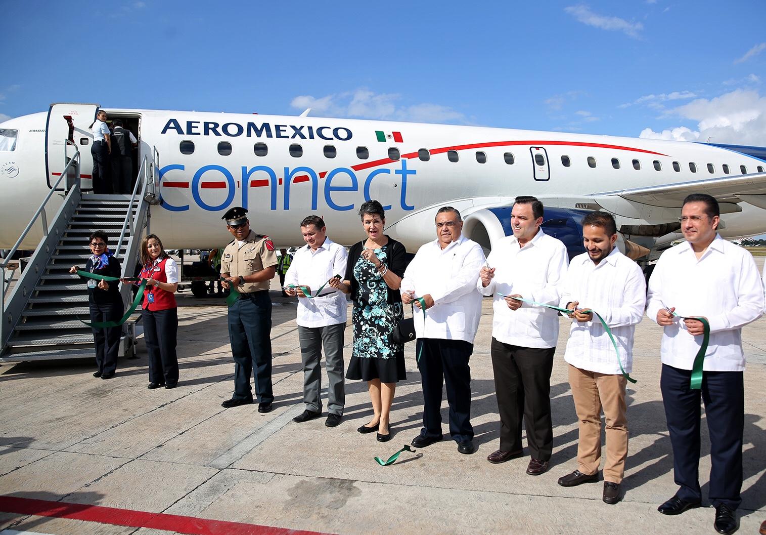 Abierta de nuevo ruta aérea Mérida-Atlanta