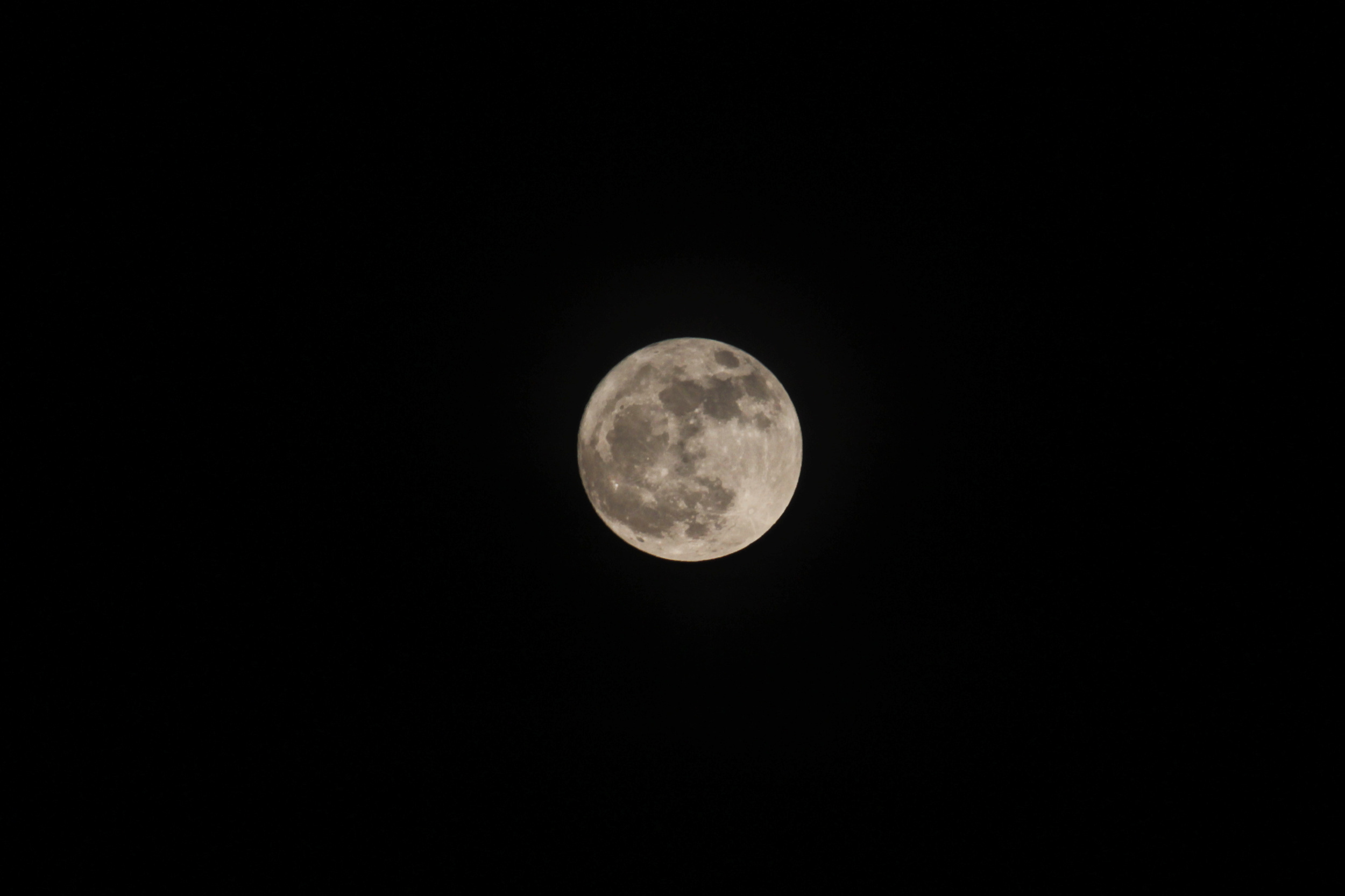 luna brillante casi llena en mérida 2017 noviembre