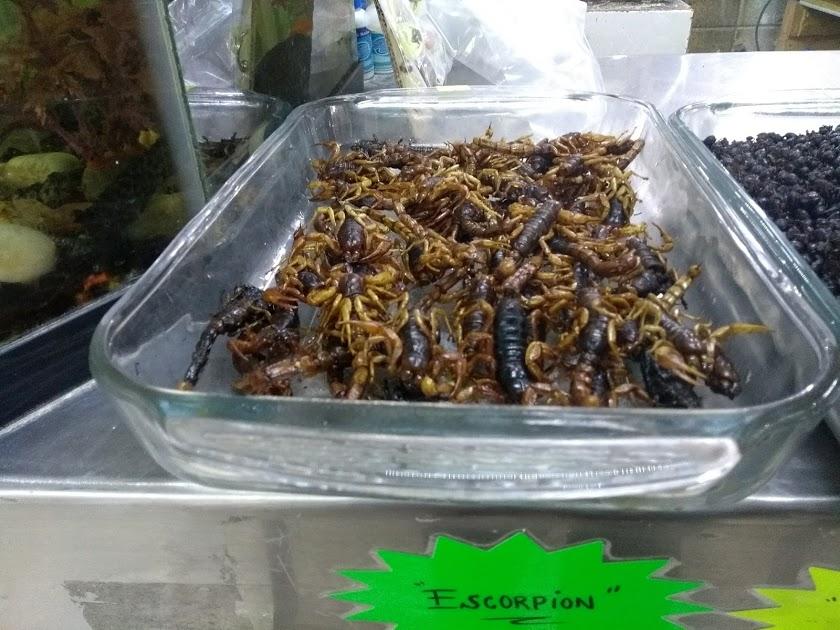 Lo increíble y exótico en alimentos: mercado de San Juan de Pugibet