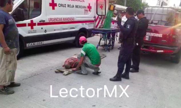 Colapsa obra en Cd. del Carmen; dos muertos y 13 heridos