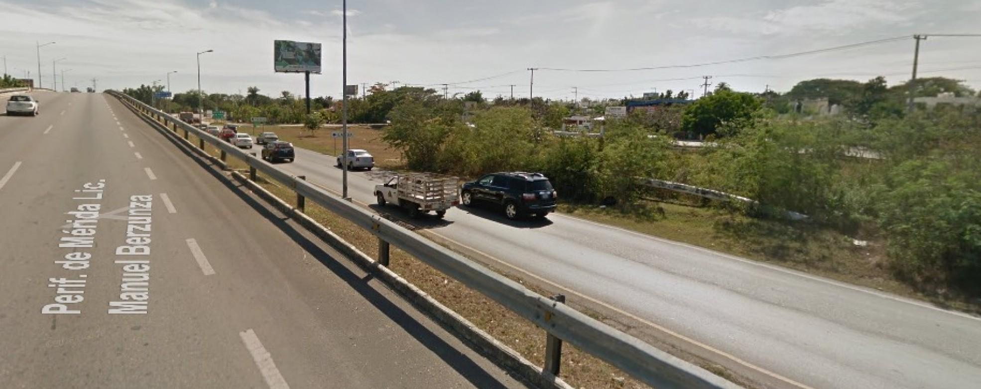 A mantenimiento Periférico de Mérida, donde circulan 150 mil vehículos diarios