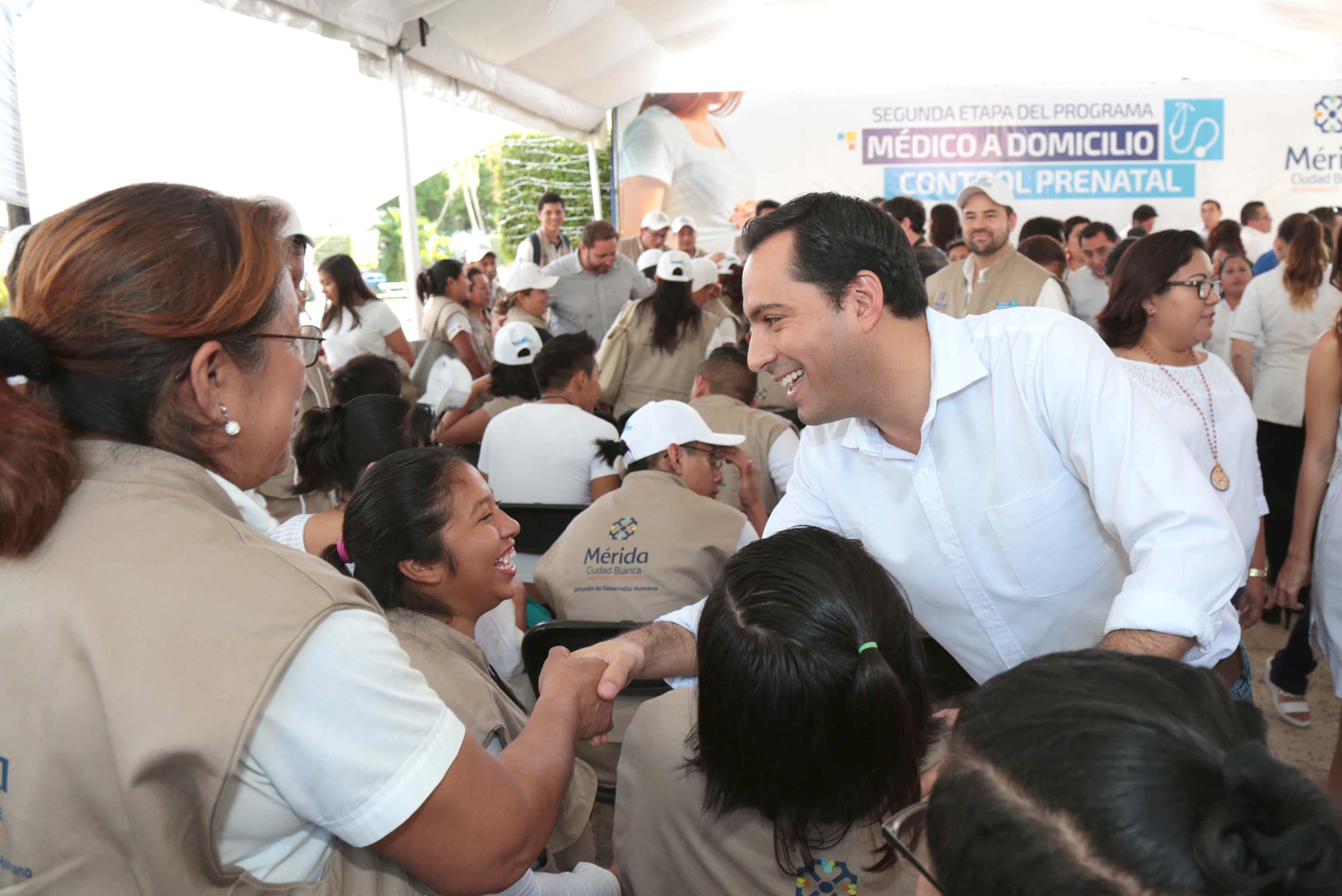 Tiene Mérida segunda etapa de programa Médico a Domicilio