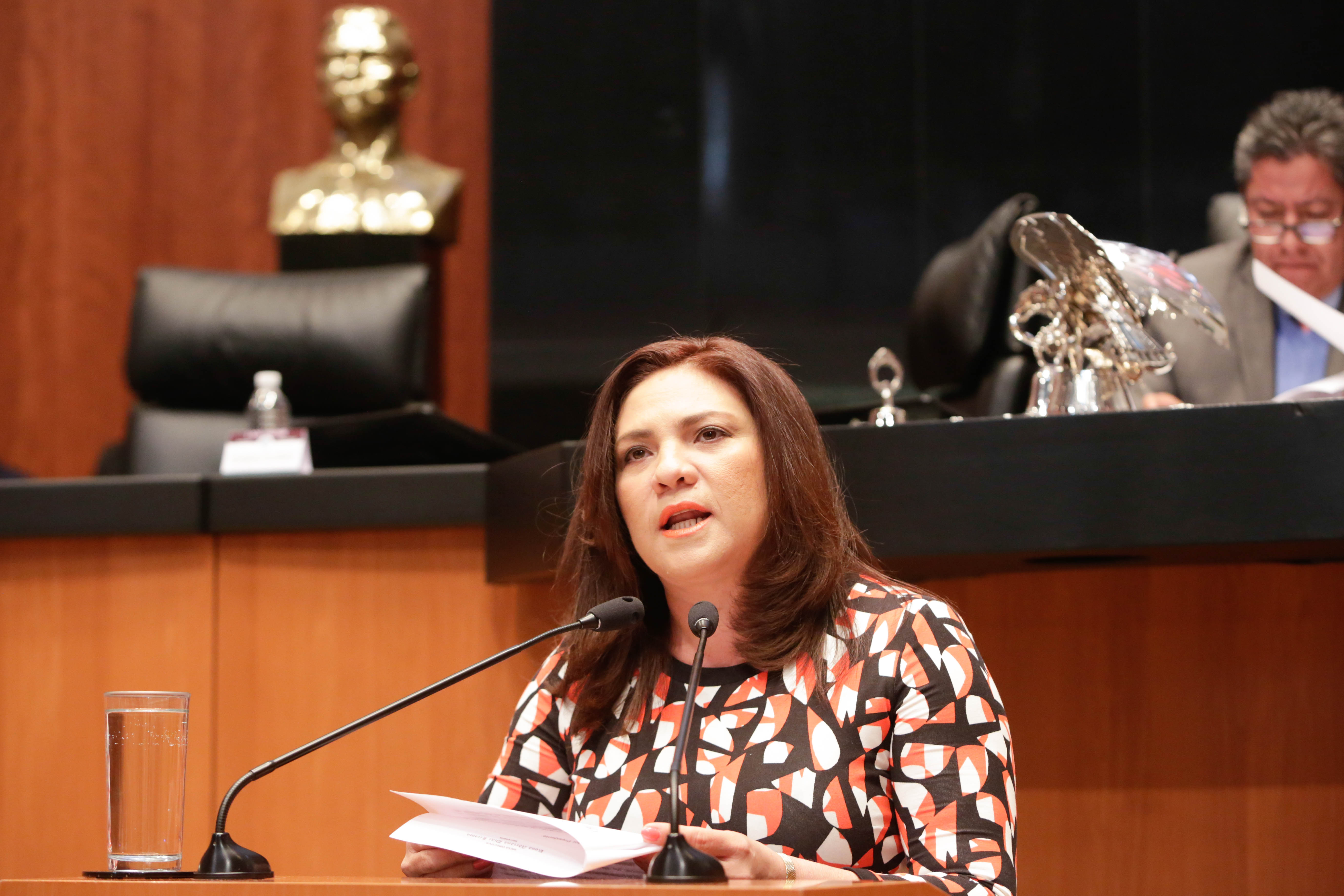 Llamado de senadora a gobernadores por feminicidios