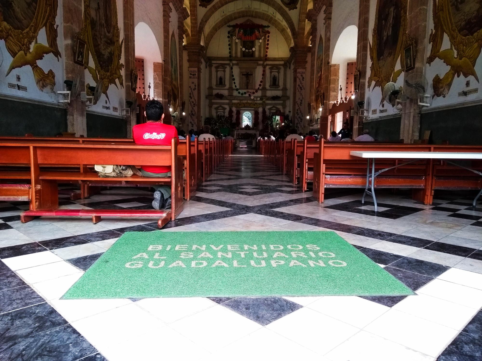 santuario guadalupano merida 2017
