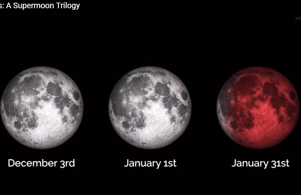¿Listo para ver las 3 superlunas? <i>Viene</i> una superluna azul y de sangre (video)