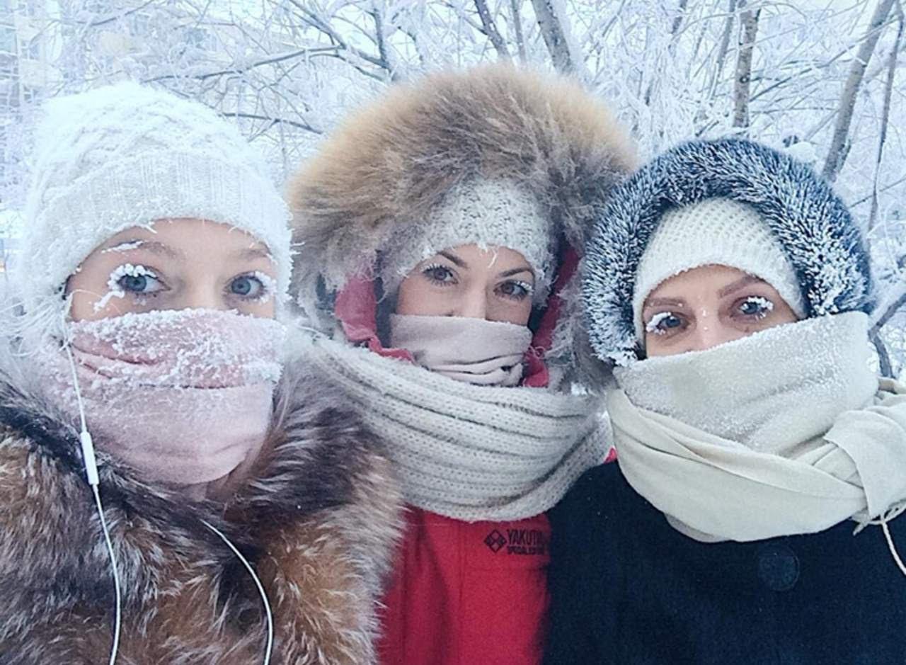 Así es vivir a 62 grados bajo cero