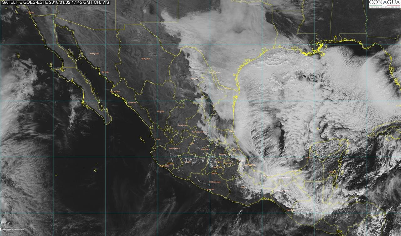 Más frío en puerta; llegaría hasta 10 grados en Península de Yucatán
