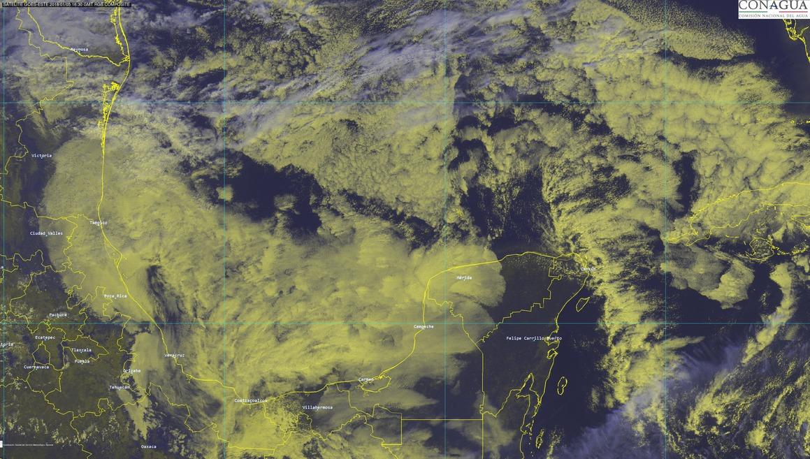Frío de hasta 5 grados en sur de Yucatán