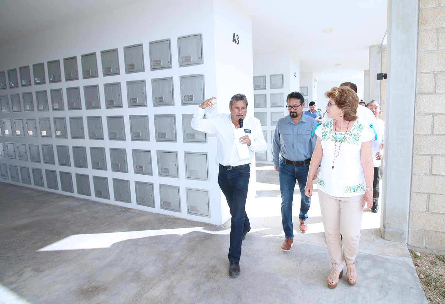 En marcha primera etapa de edificio de criptas en Cementerio Xoclán