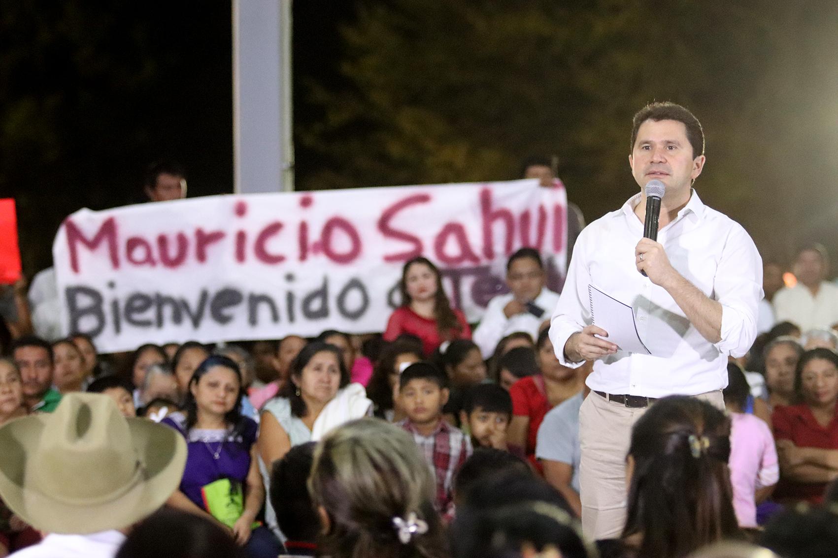 """""""Dialogando con Sahuí"""", en Tecoh y Kanasín"""