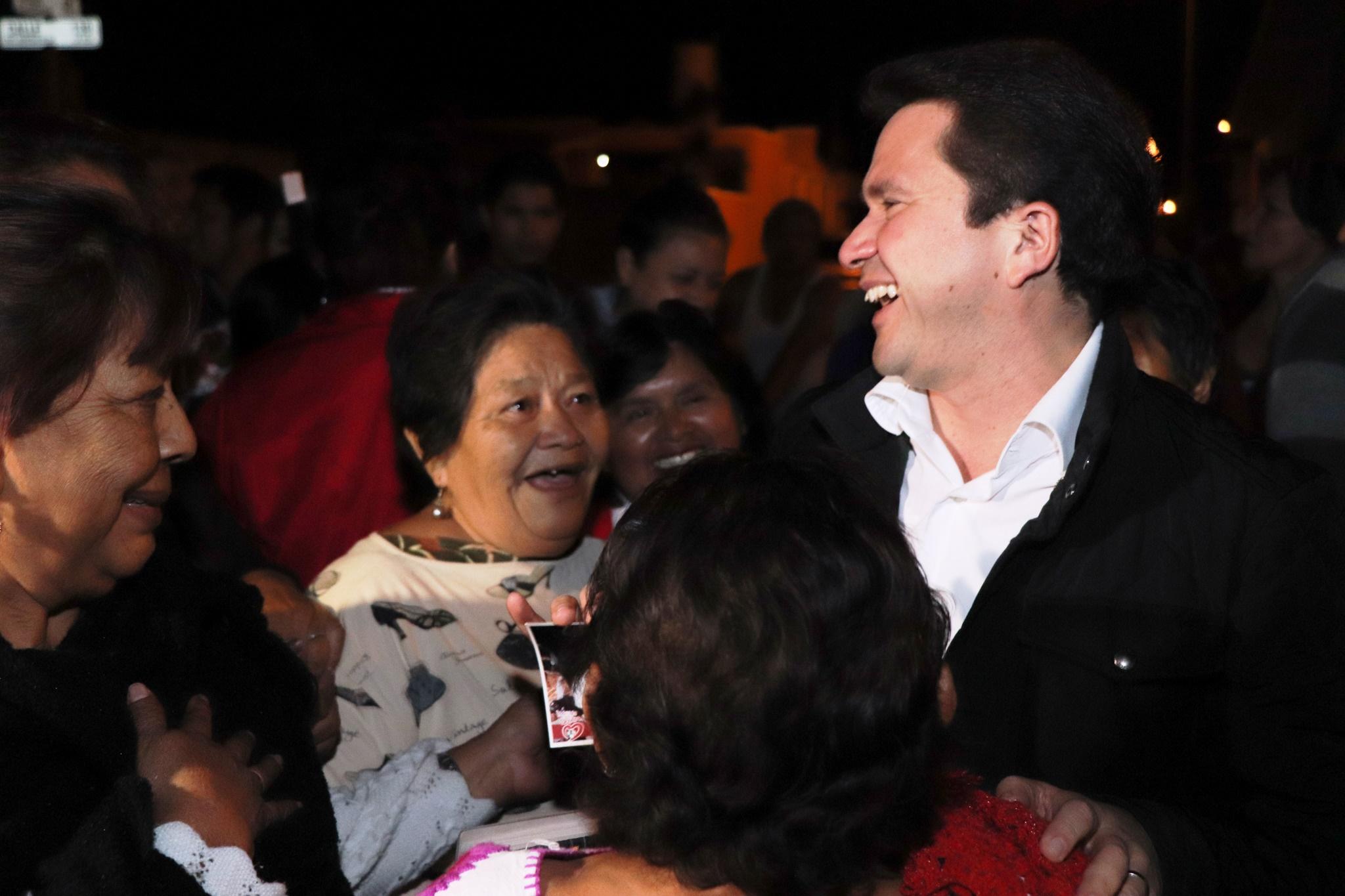 """""""Dialogando con Sahuí"""" en fraccionamiento San Nicolás del Sur"""