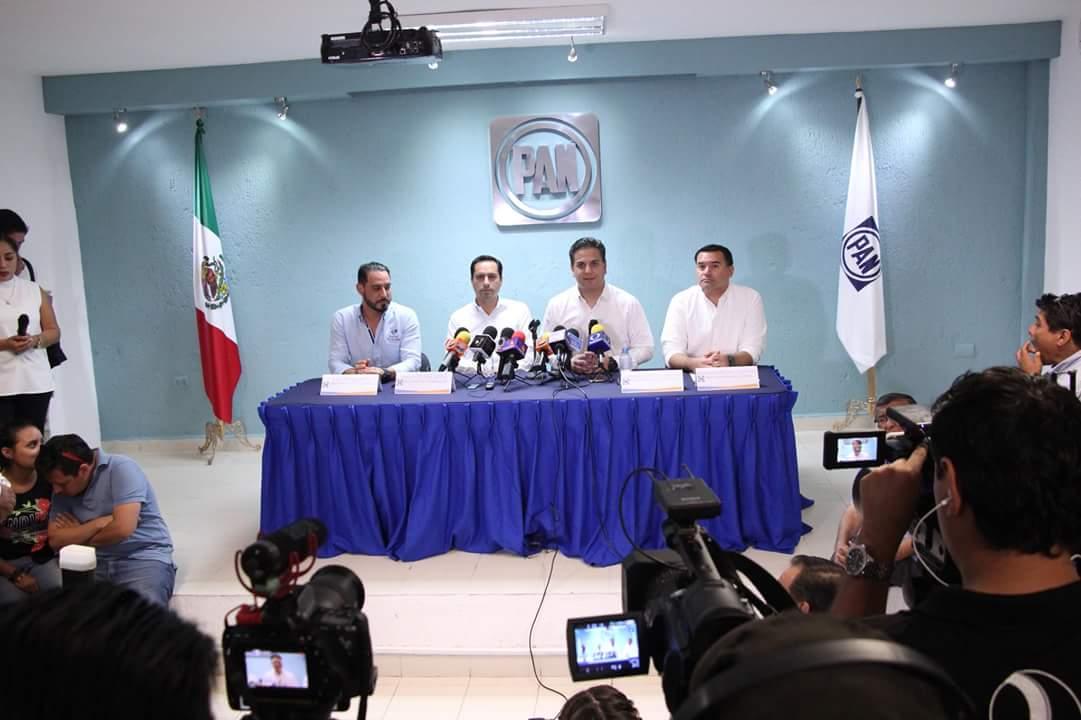 Dirigencia nacional panista 'anticipa' triunfo en Yucatán