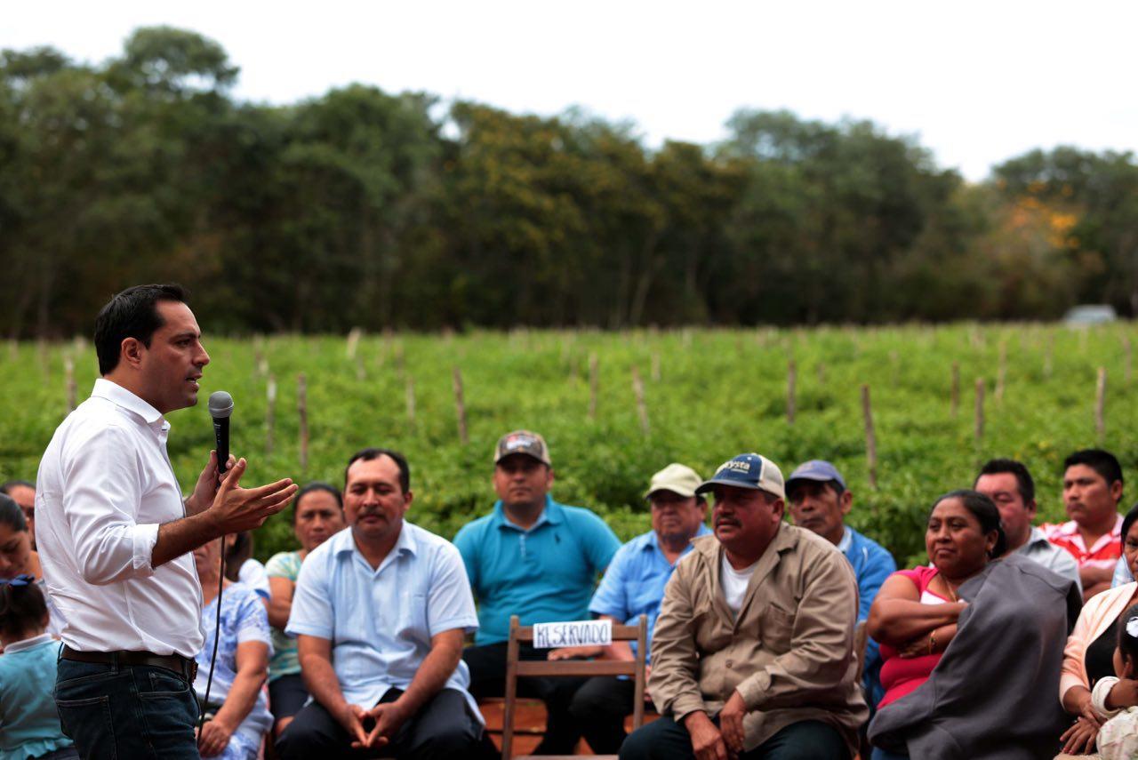 Trabajo comprometido para dar más a Yucatán.- Mauricio Vila