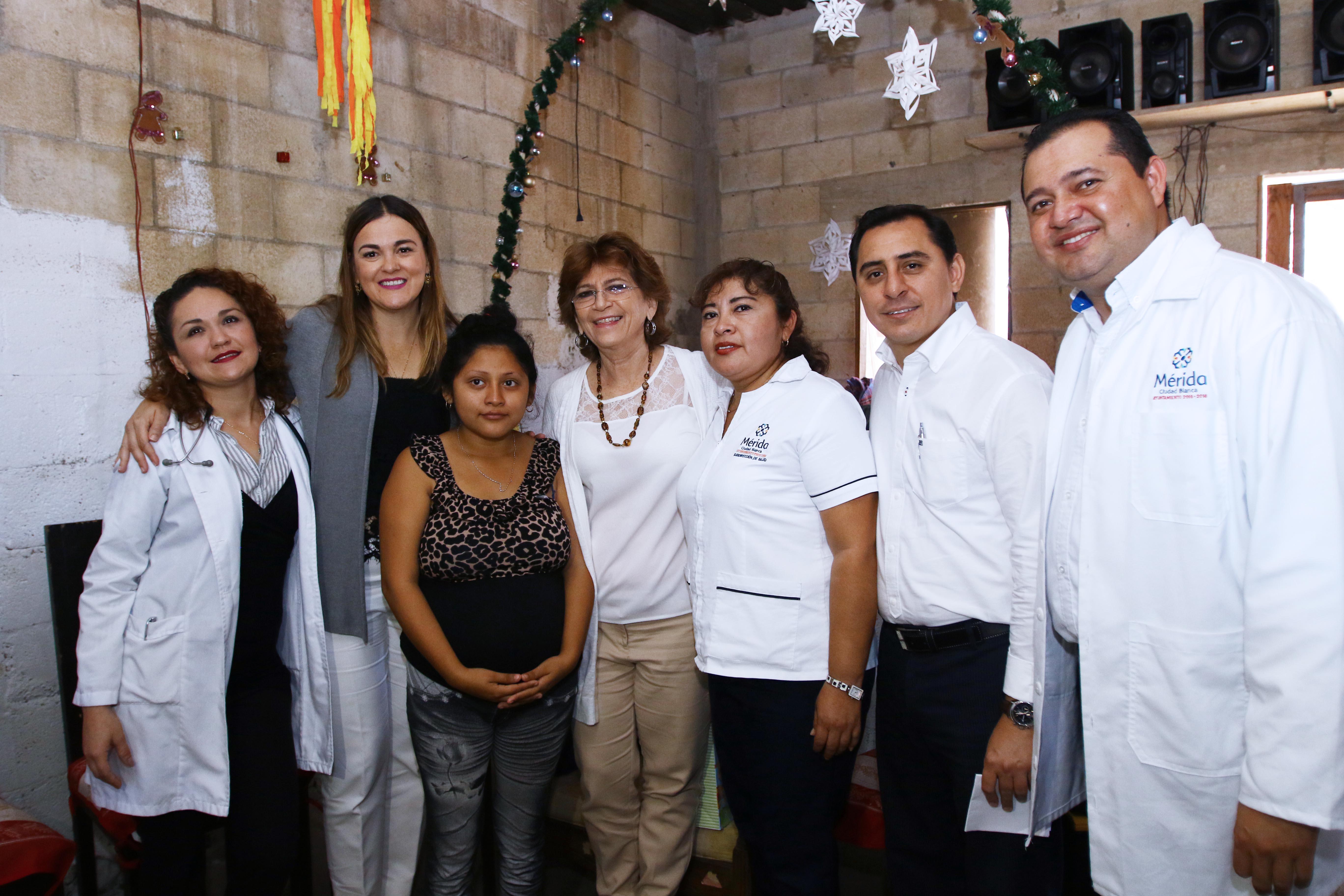 Pone Mérida reflectores a programa Médico a Domicilio