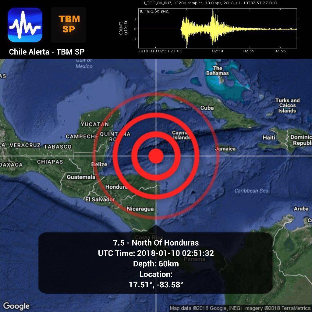 Sacude sismo a Quintana Roo y otros sitios de la Península