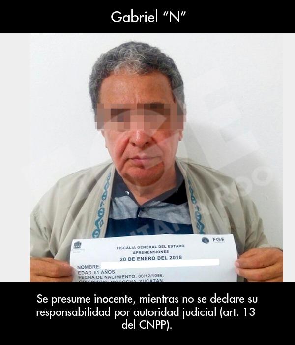 Prisión preventiva y embargo de bienes a Mendicuti Loría