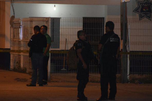 Matan a policía de Cancún en su caseta de vigilancia