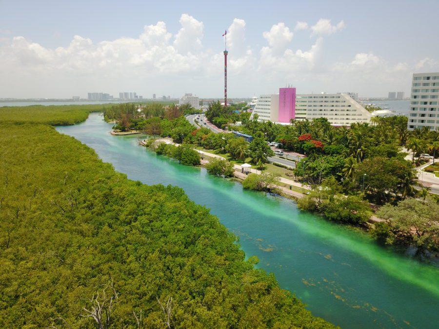 """Gobierno """"Verde"""" de Cancún olvida rescate de Nichupté"""