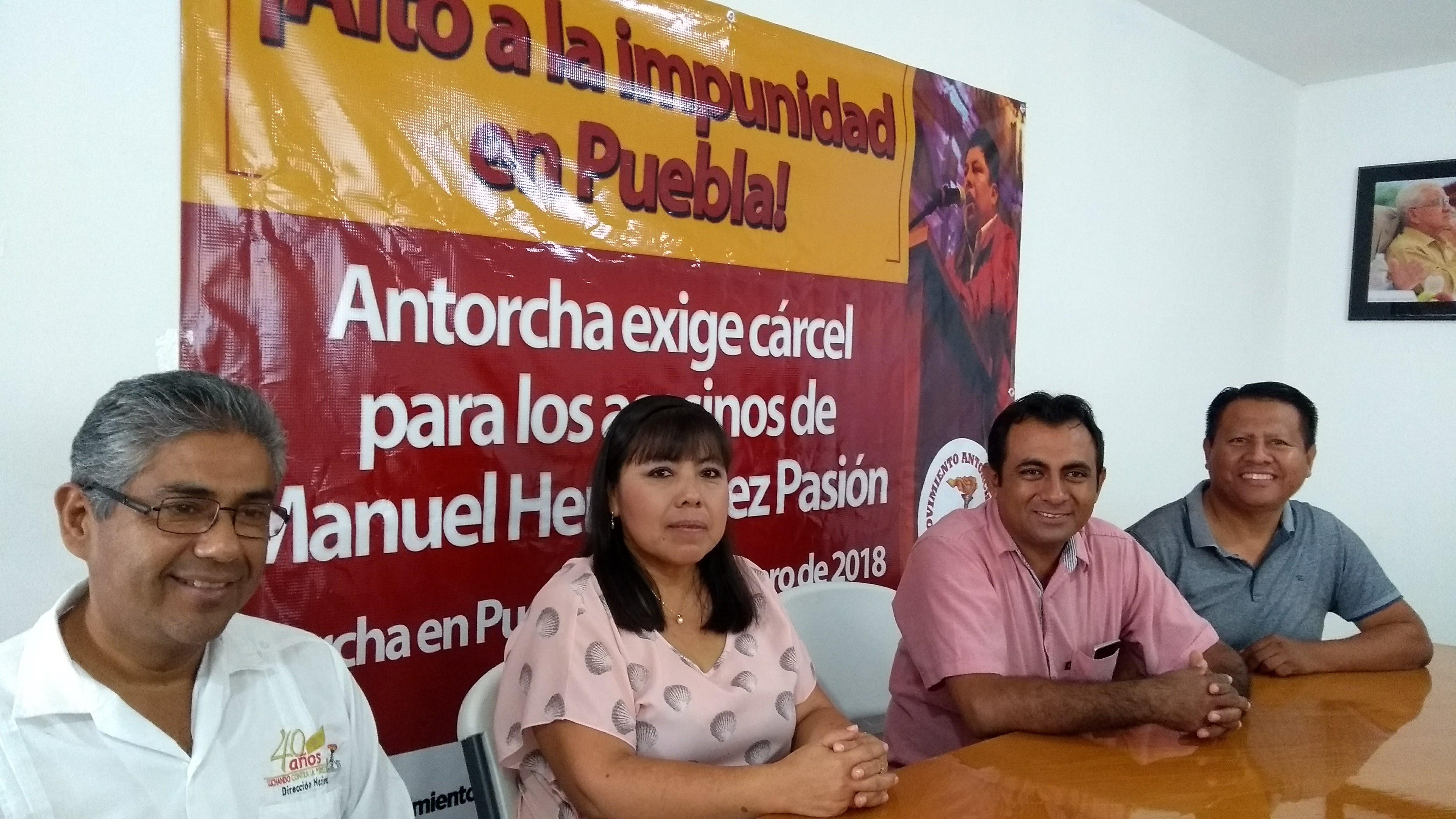 Movimiento Antorchista vuelve a las calles en Mérida