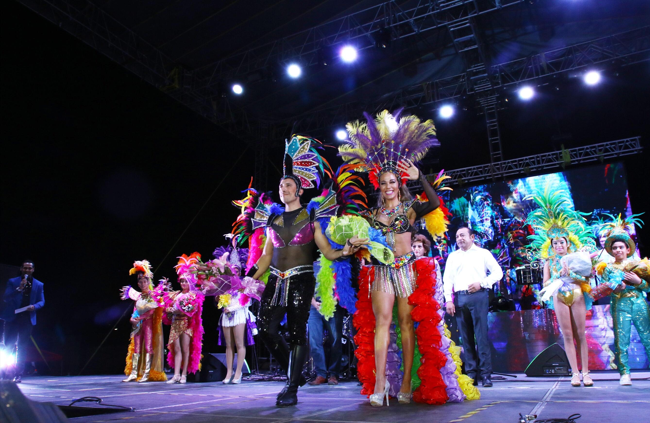 Los primeros destellos del Carnaval Mérida 2018