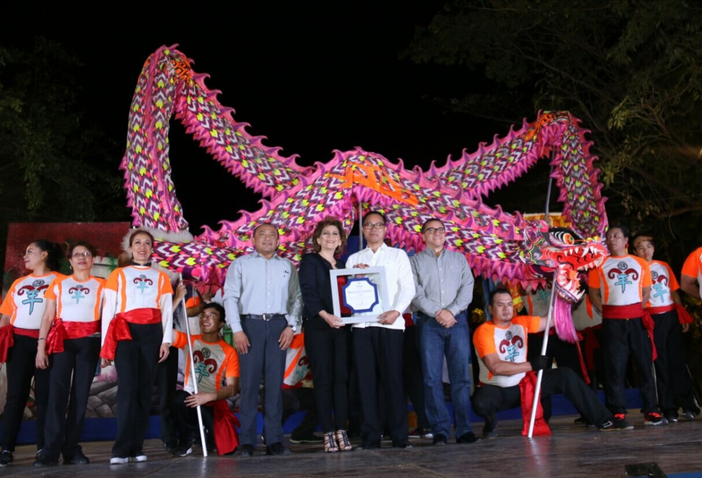Expresión cultural de China en Mérida