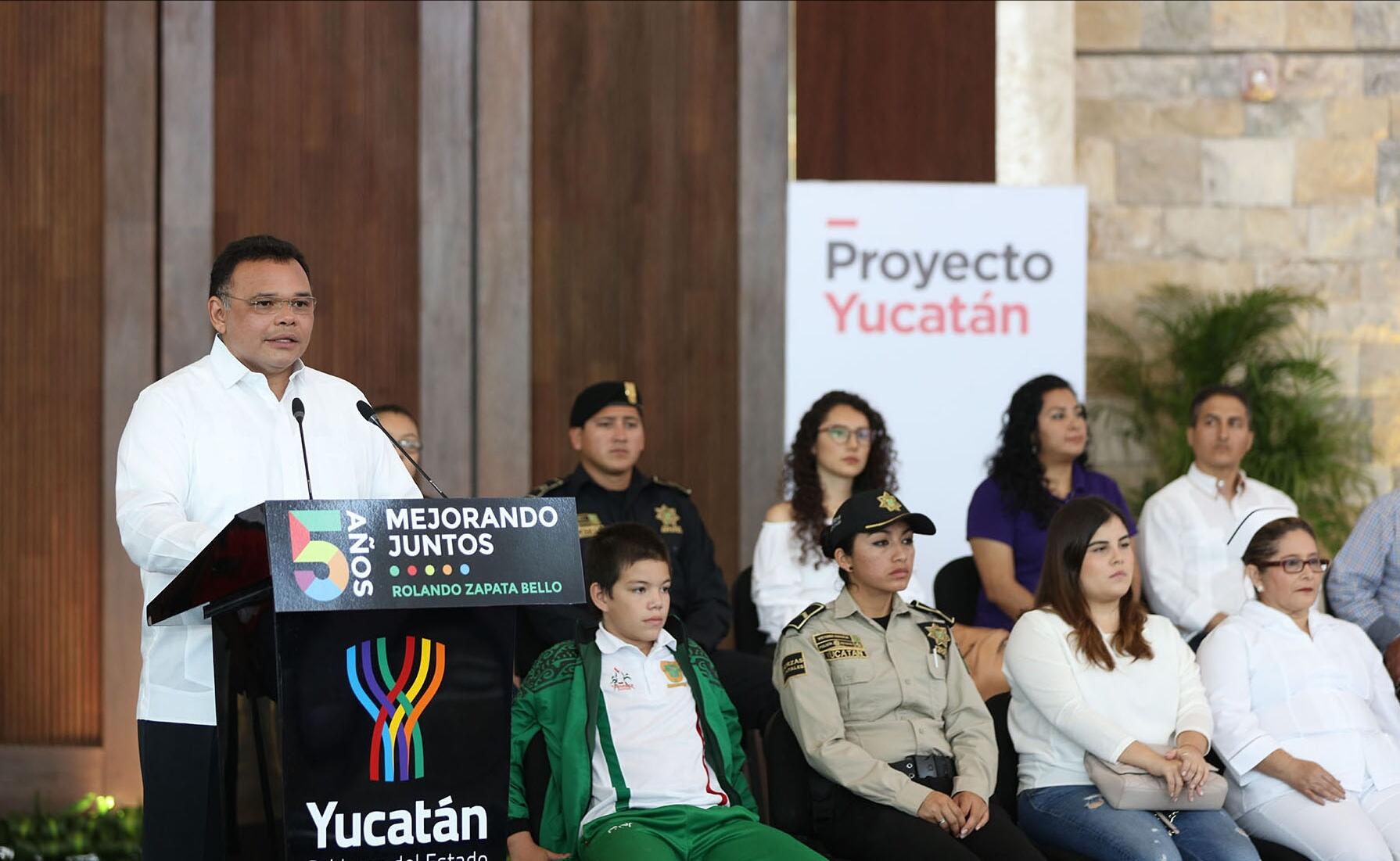 Un mejor futuro si mantenemos el Proyecto Yucatán: RZB