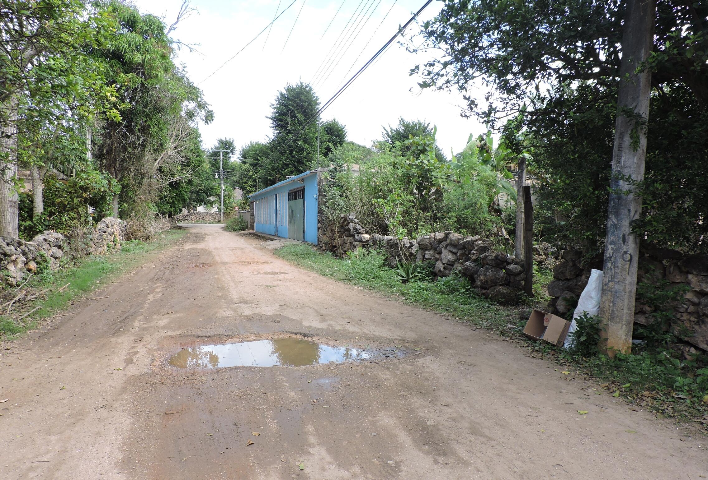 Peto, en el sur maya de Yucatán, batallan con la basura doméstica