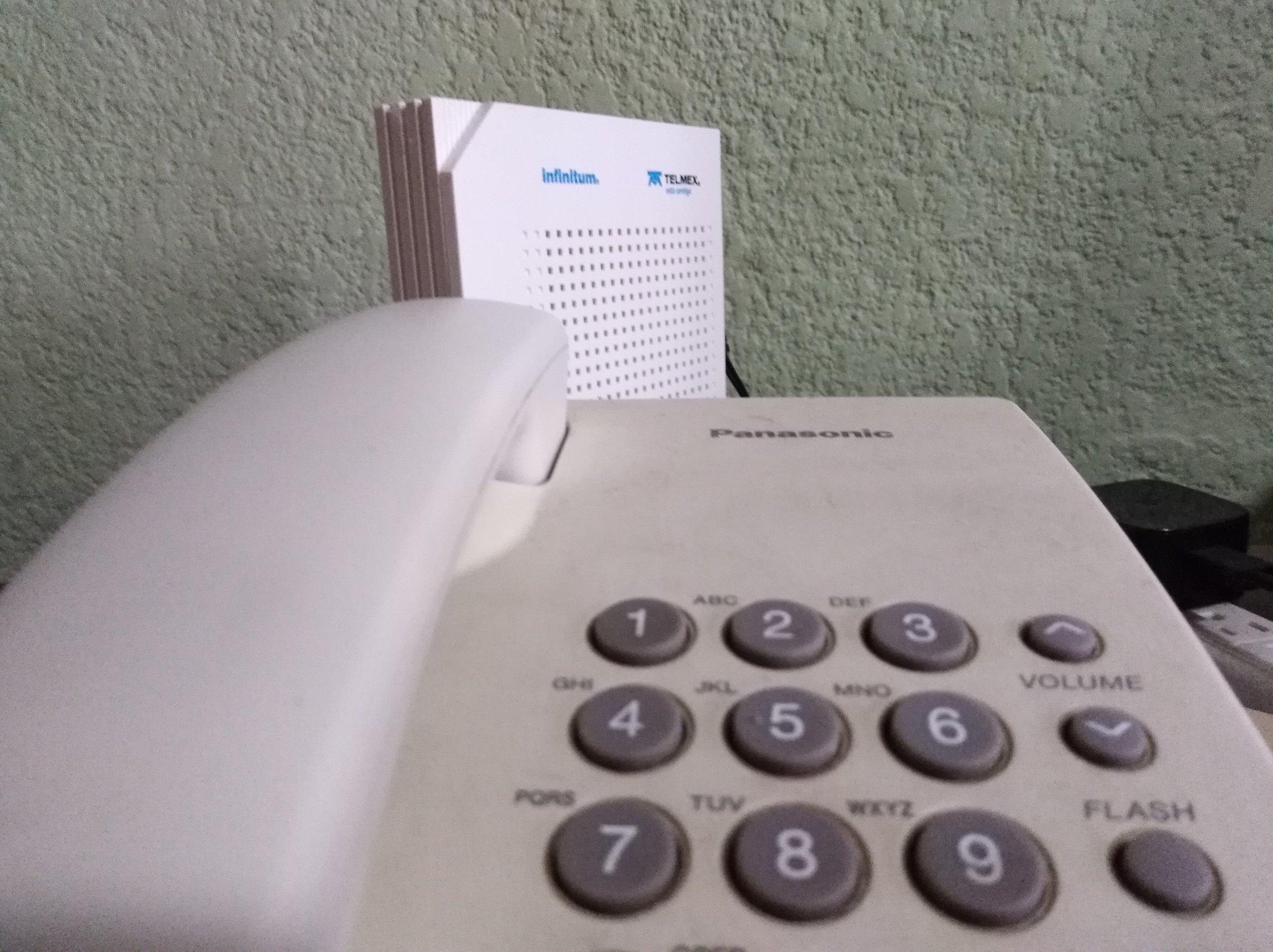 Falla masiva en servicio de internet de Telmex