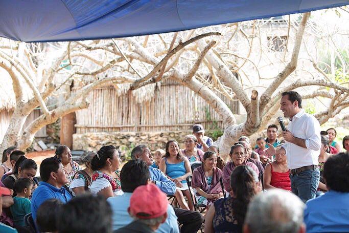 En dos semanas Mauricio Vila escuchó a yucatecos en 50 municipios