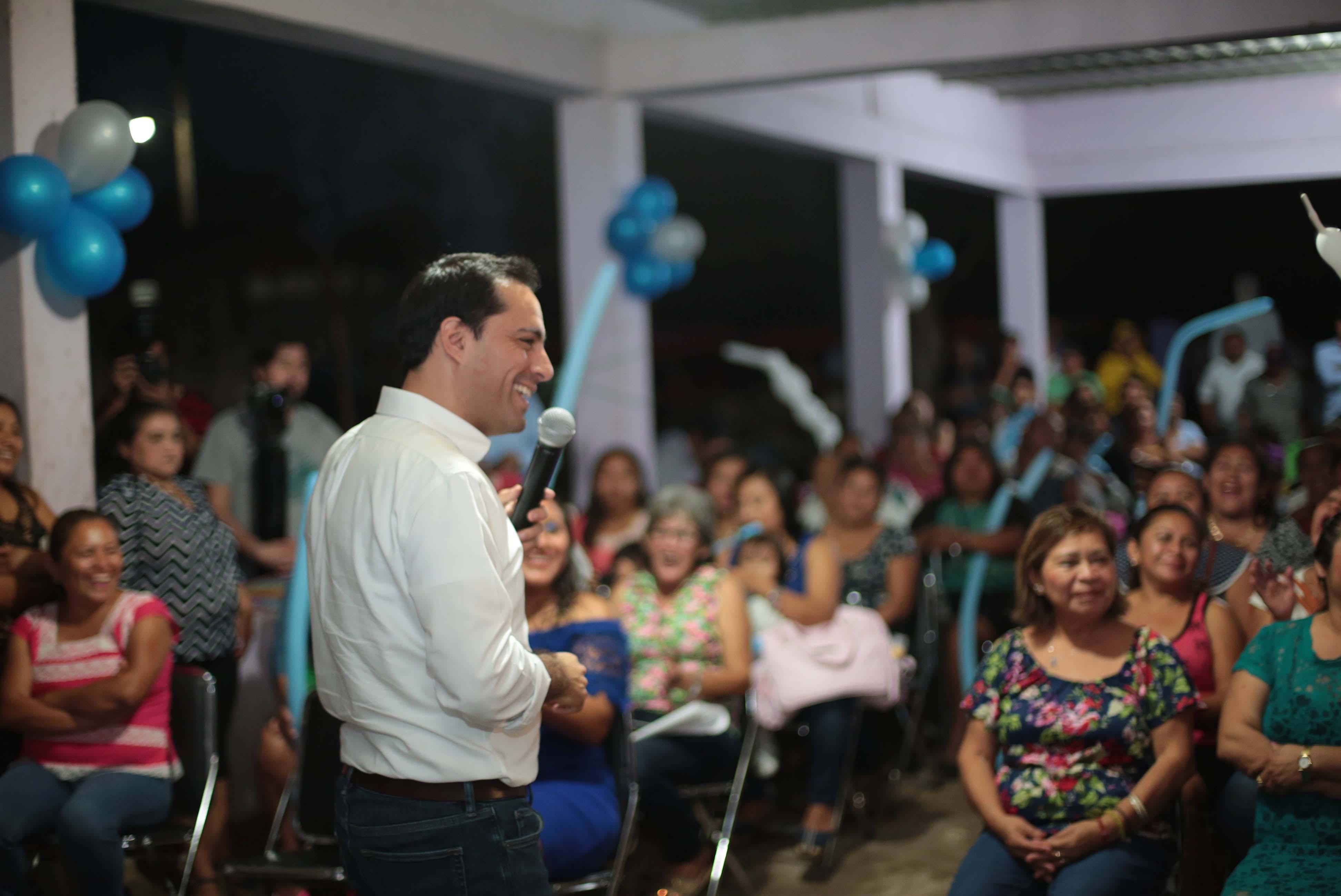 Llega precampaña de Mauricio Vila a 50% de municipios de Yucatán