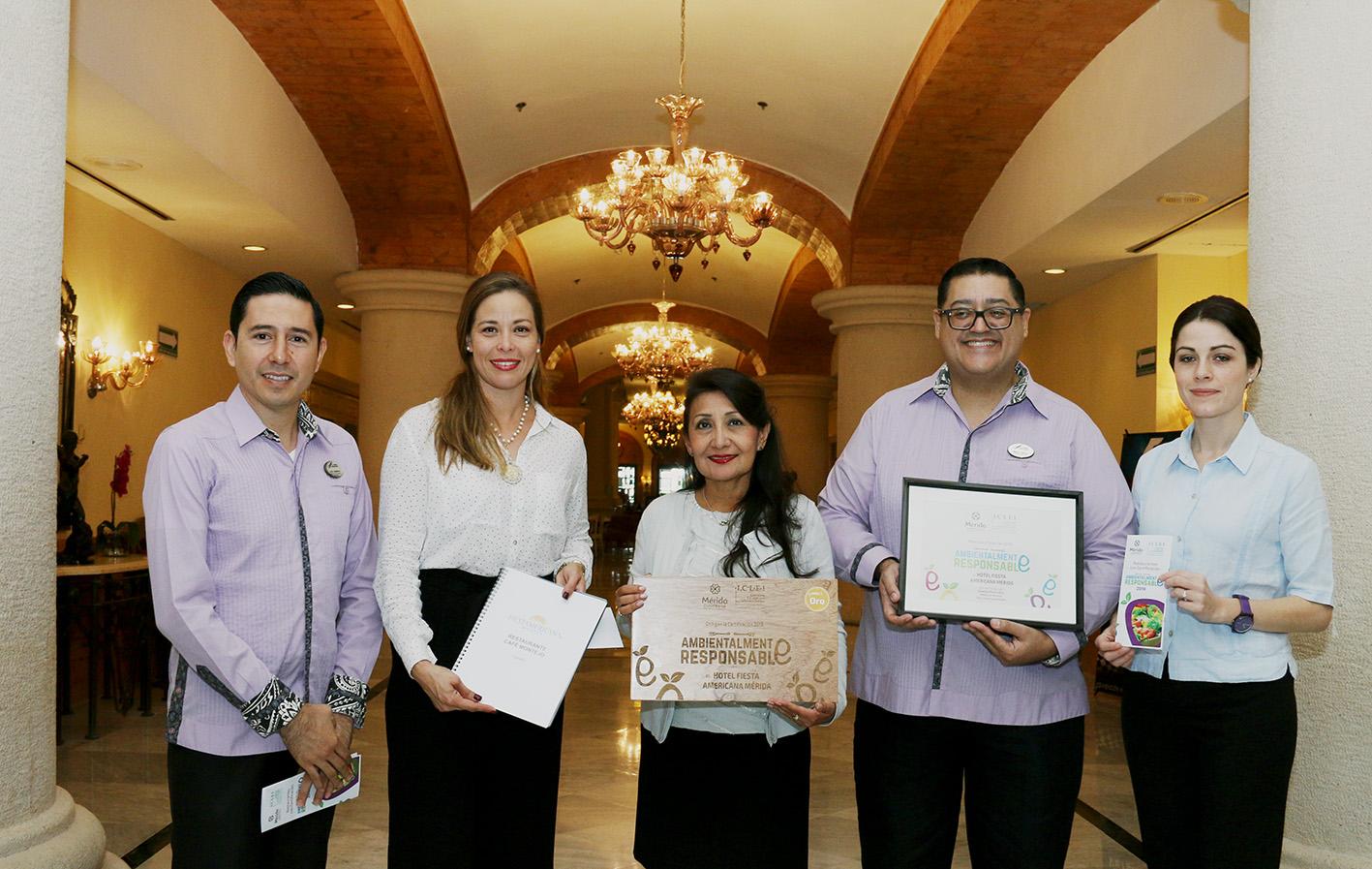 """Restaurantes de Mérida con certificados """"Ambientalmente Responsables"""""""