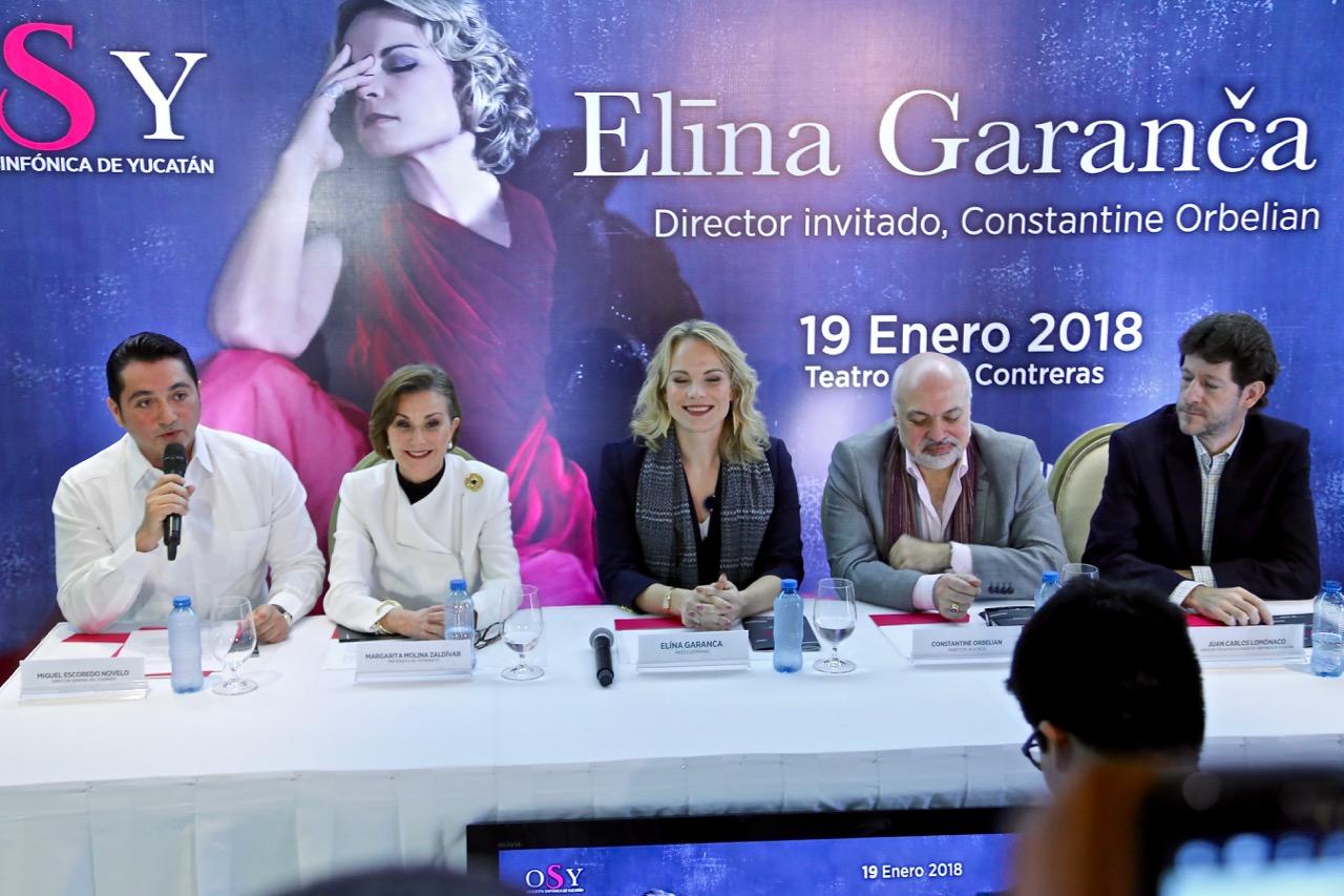 """La ópera perdurará siempre"".- mezzosoprano Elina Garanca"