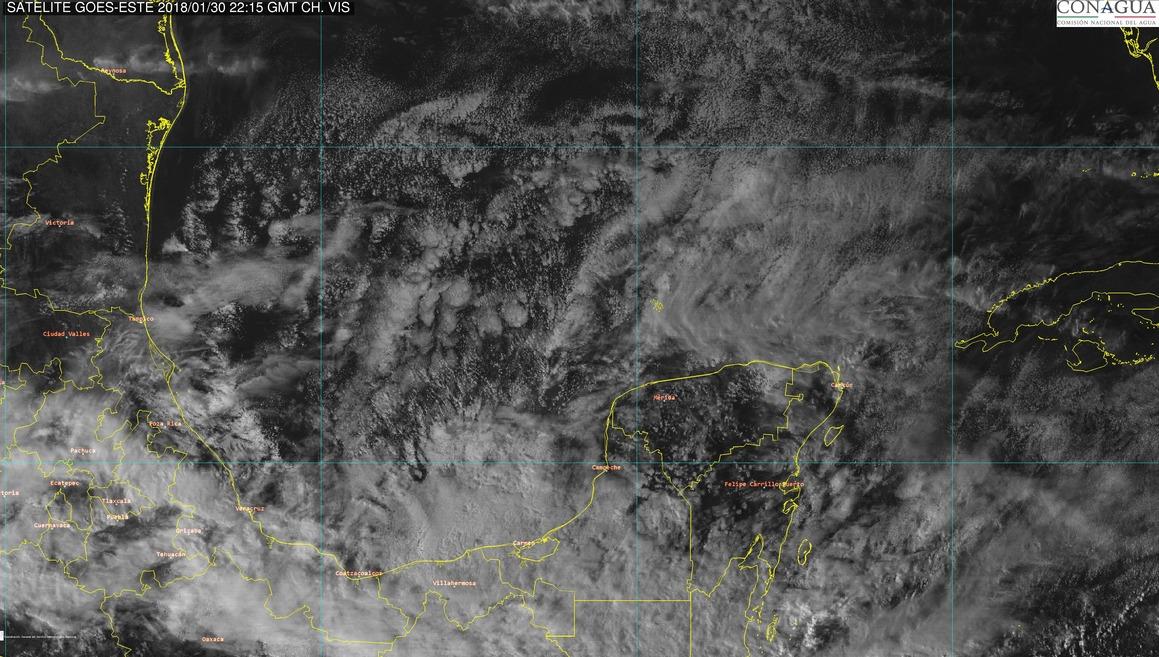 Frío miércoles y paulatina reducción hasta viernes en Península de Yucatán