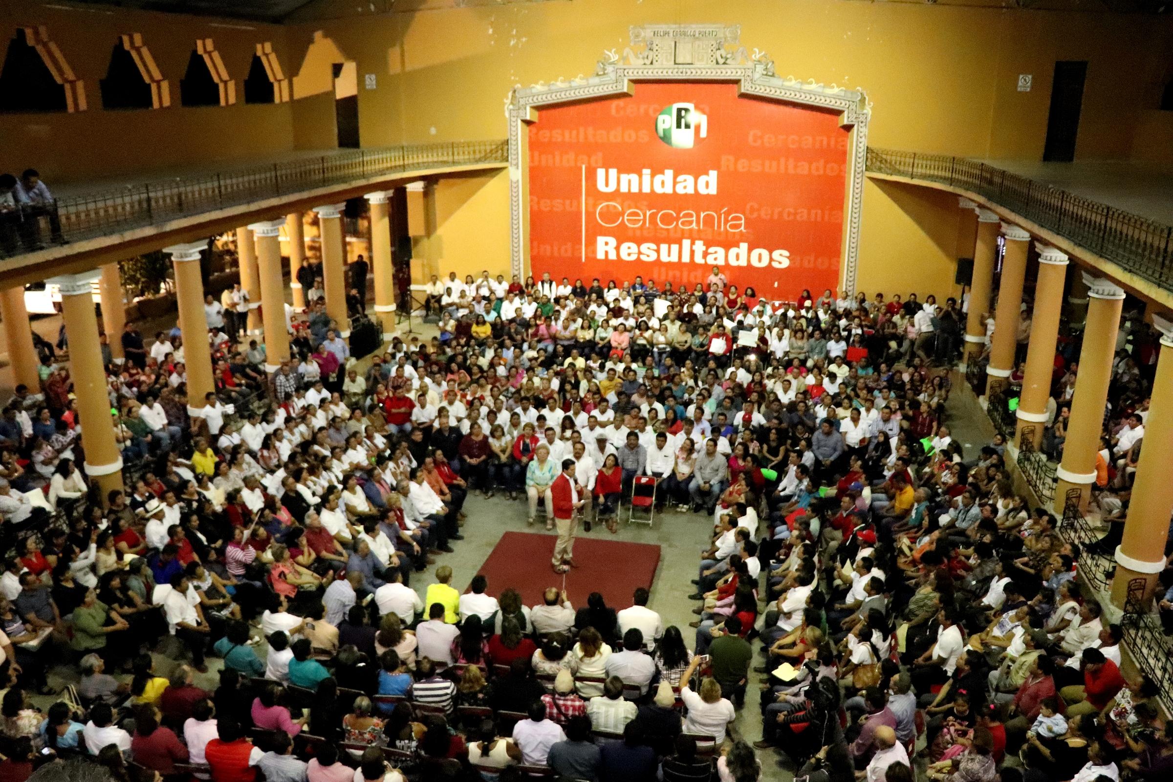 Se reúne Sahuí con estructura política de 105 municipios