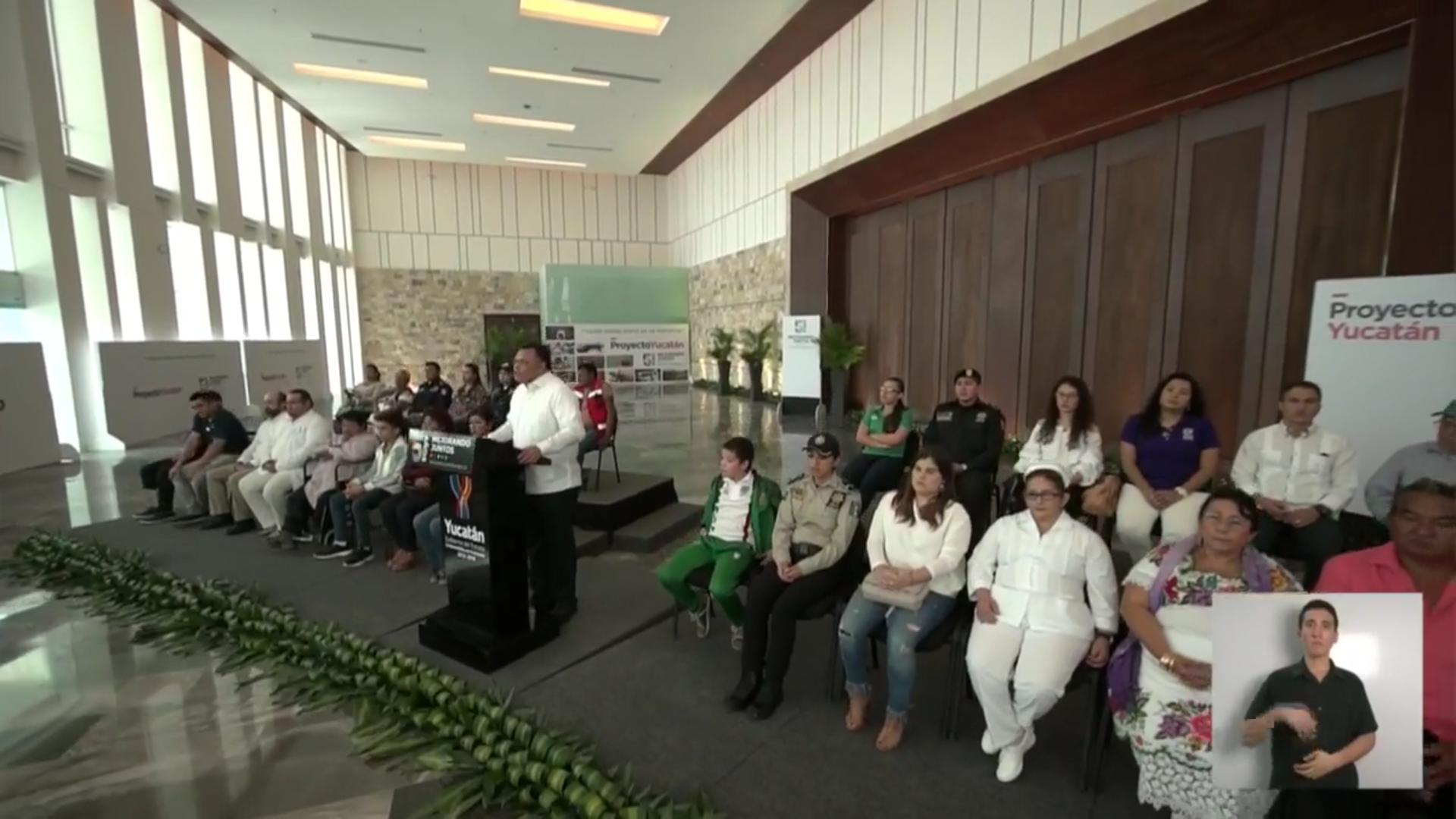 Catálogo de obras y acciones para finalizar sexenio en Yucatán