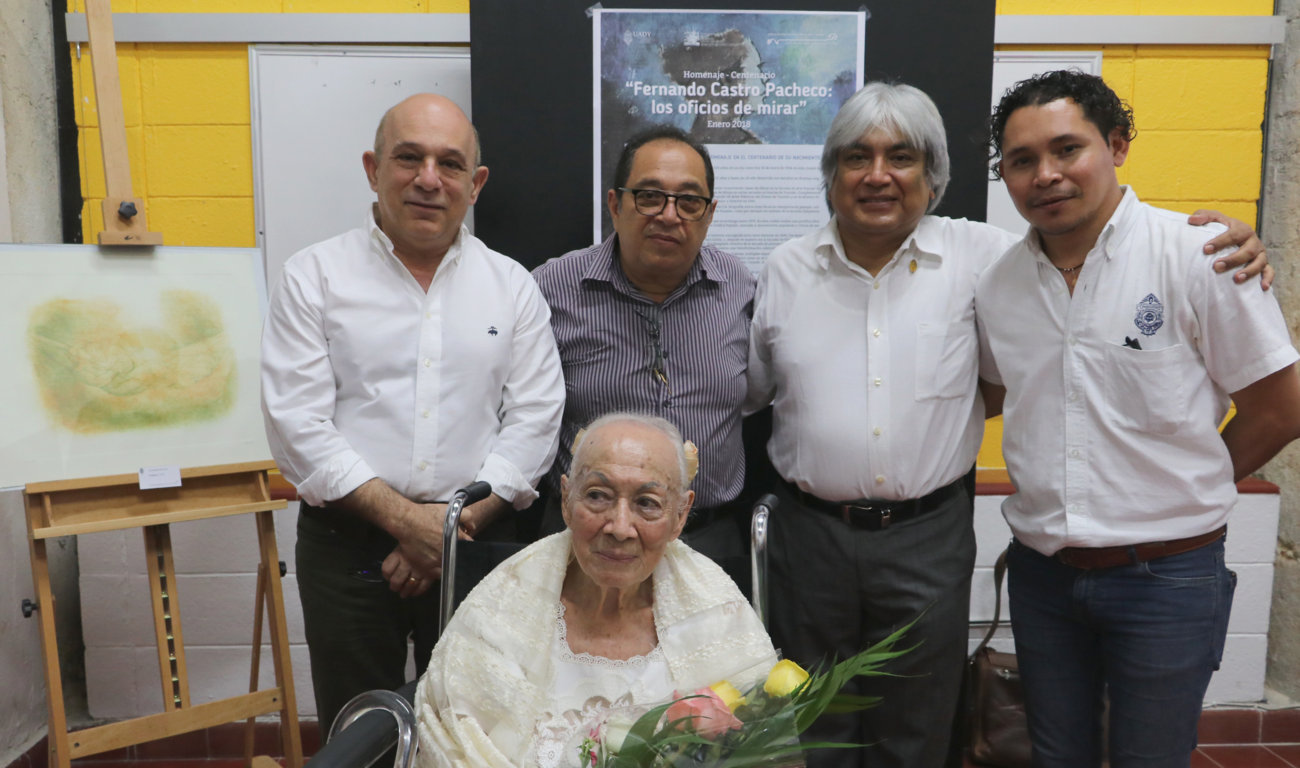 """""""Castro Pacheco, obra gráfica, acuarela y escultura"""", en Facultad de Arquitectura UADY"""