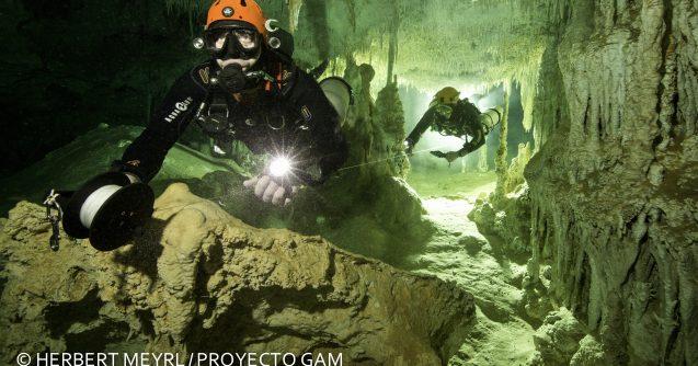 La cueva inundada más grande del mundo, en Quintana Roo