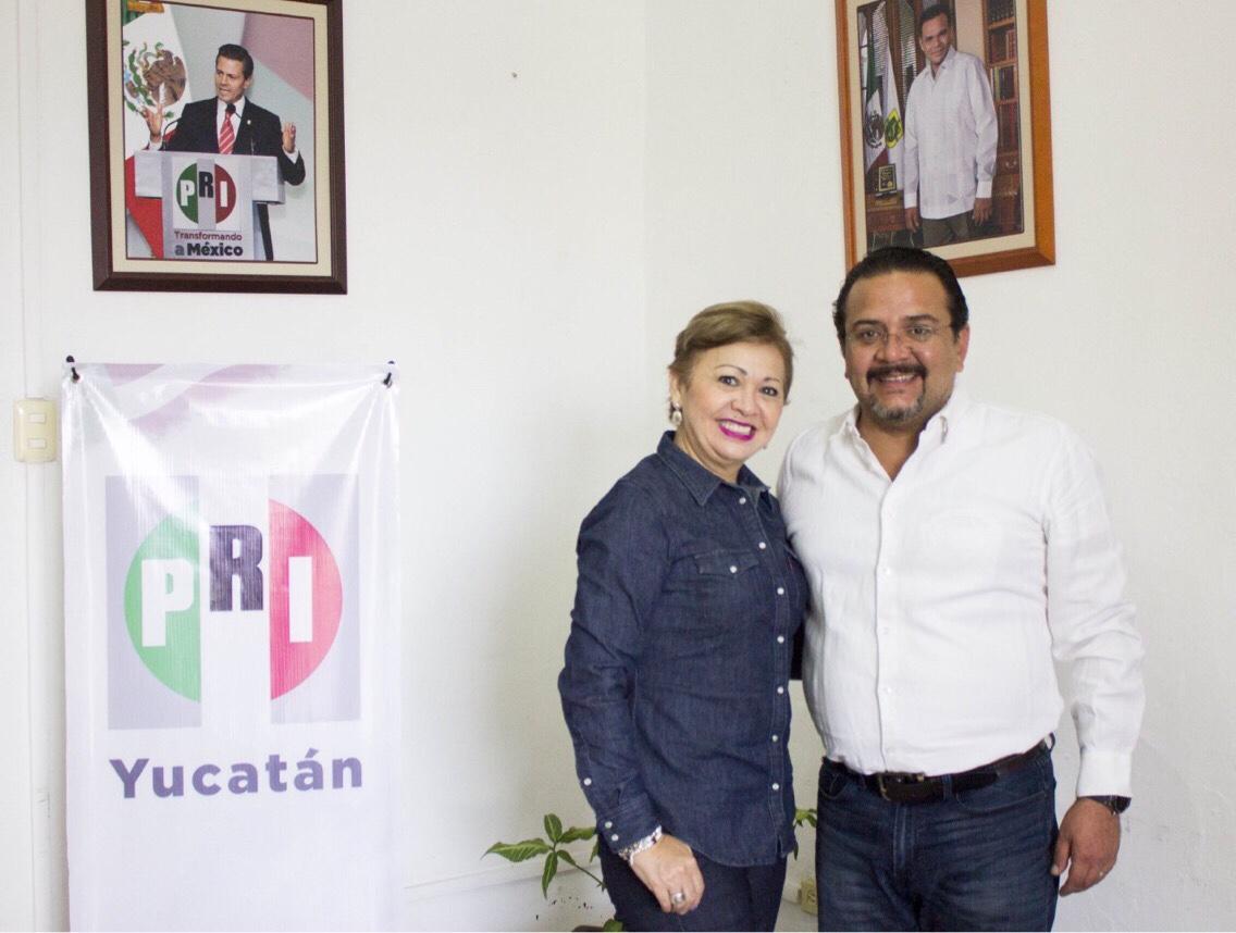 Asume Leandra Moguel Secretaría General de PRI Yucatán