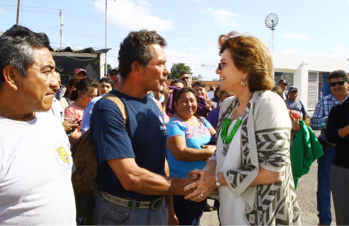 Alcaldesa de Mérida sale de Palacio y visita Servicios Públicos Municipales