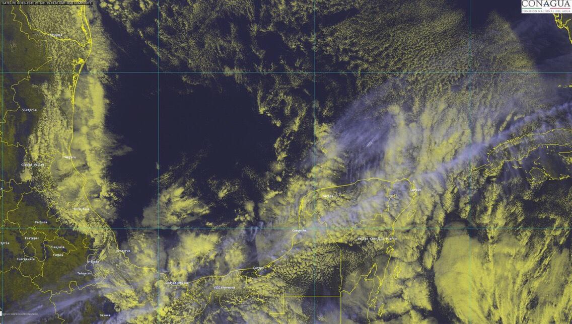 Anticipan ligera disminución en niveles de frío en Península de Yucatán