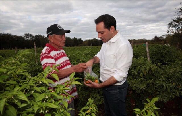 """""""La economía de Yucatán merece más y por eso no vamos a parar"""""""