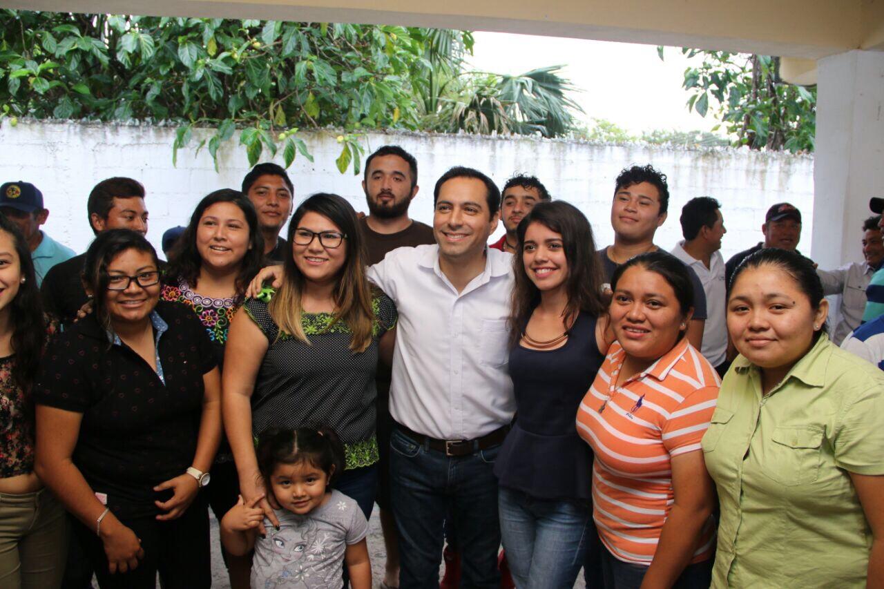 Reciben a Vila en Dzilam Bravo, Dzilam González, Cansahcab, Dzoncauich y Temax