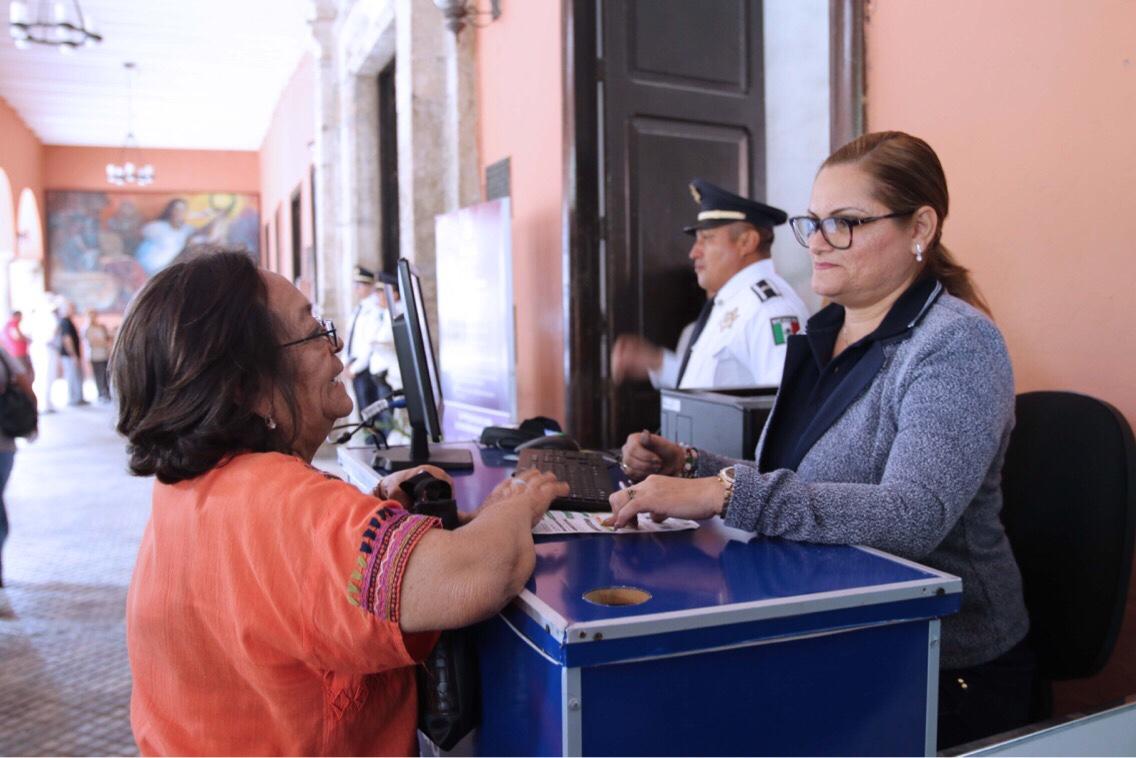 Reporta Ayuntamiento Mérida buena respuesta en pago de predial