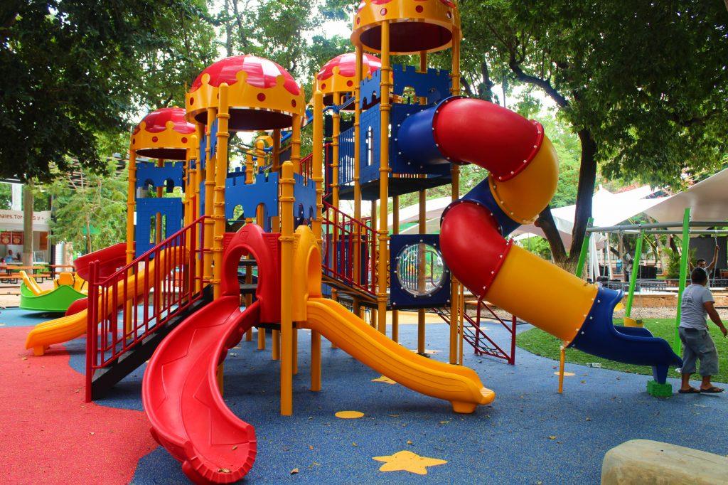 juegos infantiles parque zoologico centenario 2018 merida