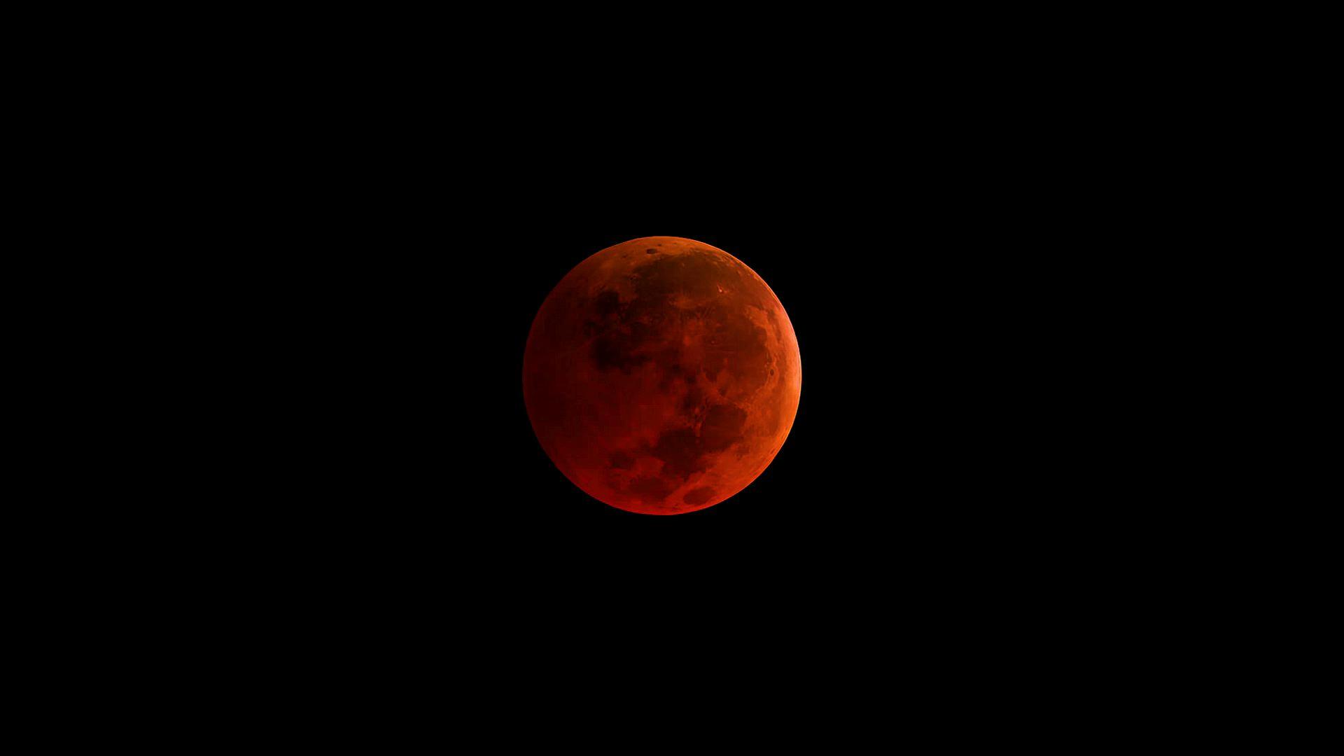 Hora exacta para ver en Yucatán el eclipse lunar; hay luna de sangre (video)