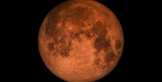 luna llena roja contexto eclipse lunar super luna enero 2018 luna azul foto nasa