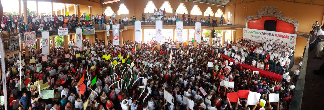 Esta es la lista completa de precandidatos del PRI a diputados de Yucatán (video)
